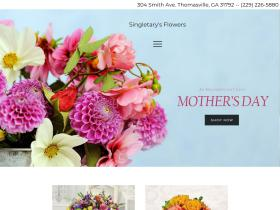 singletarysflowers.com