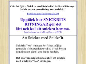 snickrit.se