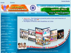 socwelfare.pondicherry.gov.in