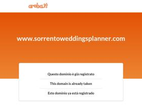 sorrentoweddingsplanner.com