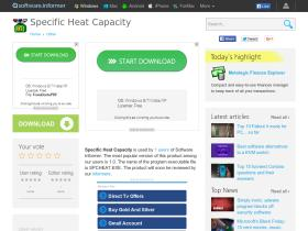 specific-heat-capacity.software.informer.com