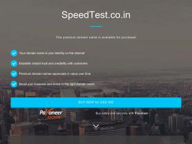 speedtest.co.in
