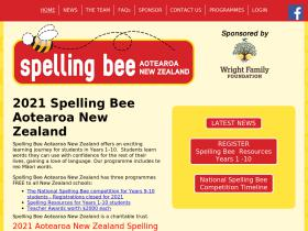 spellingbee.co.nz