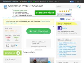 spiderman-web-of-shadows.software.informer.com