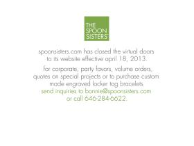 spoonsisters.com