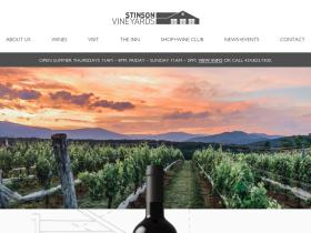 stinsonvineyards.com