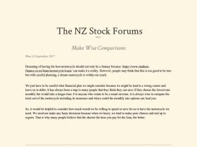 stockforums.co.nz