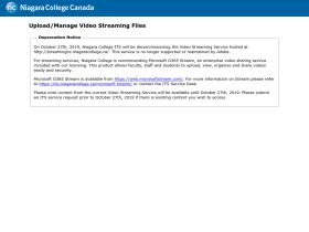 streaming.niagaracollege.ca