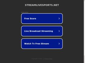 streamlivesports.net