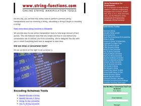 string-functions.com