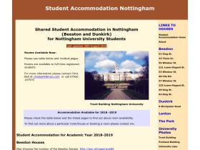 studentaccommodationnottingham.co.uk