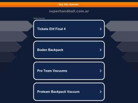 superhandball.com.ar