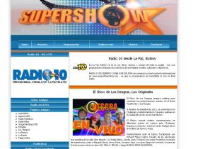 supershowbolivia.com