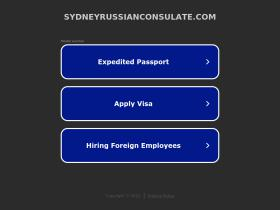sydneyrussianconsulate.com