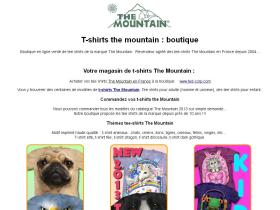 t-shirt-the-mountain.fr