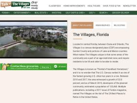talkofthevillages.com