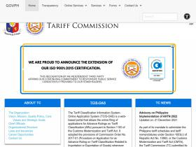 tariffcommission.gov.ph