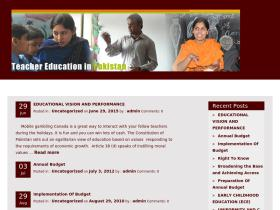 teachereducation.net.pk