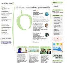 teachernet.gov.uk