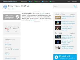tecar-forum-etka-v2.software.informer.com