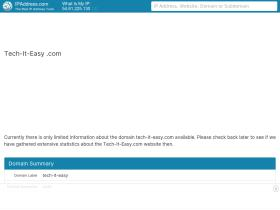 tech-it-easy.com.dedicatedornot.com