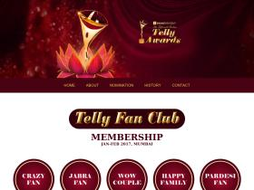 tellyawards.indiantelevision.com