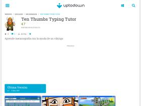 ten-thumbs-typing-tutor.uptodown.com