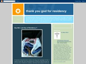 thankyougodforresidency.blogspot.com