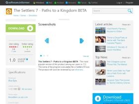 the-settlers-7-paths-to-a-kingdom-beta.software.informer.com
