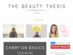 thebeautythesis.com
