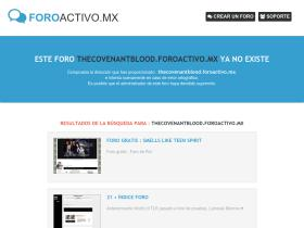 thecovenantblood.foroactivo.mx