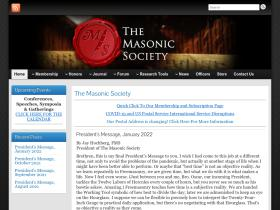 themasonicsociety.com
