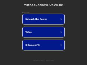 theorangeboxlive.co.uk