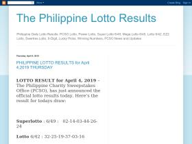 thephilippinelottoresults.blogspot.com