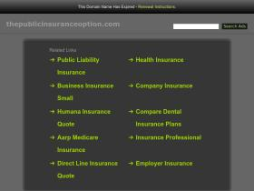 thepublicinsuranceoption.com