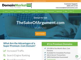 thesakeofargument.com