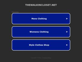 thewalkincloset.net