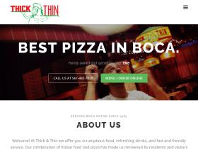 thickandthinpizza.com