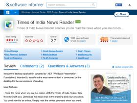 times-of-india-news-reader.software.informer.com