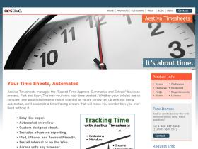 timesheet-software.aestiva.com