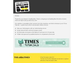 timesspellingbee.co.uk