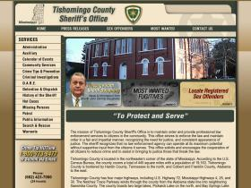 tishomingocountysheriff.com