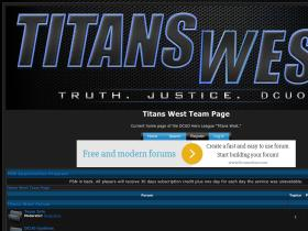titanswest.forumotion.com
