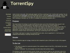 torrentspy.sourceforge.net