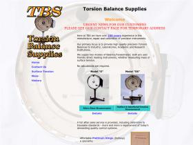torsionbalancesupplies.co.uk