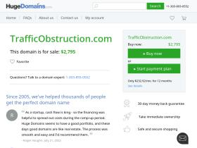 trafficobstruction.com