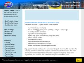 trainsineurope.co.uk