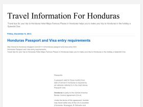 travel-to-honduras.blogspot.com