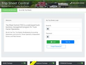 tripsheetcentral.com