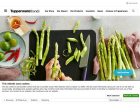 tupperwarebrands.com